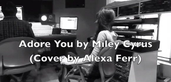 alexa ferr adore you cover