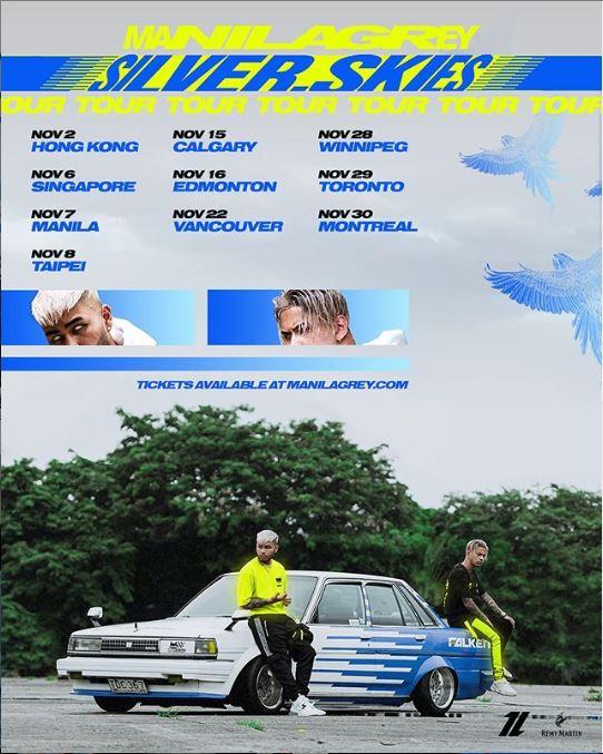 """Manila Grey Announces New Tour """"Silver Skies"""""""