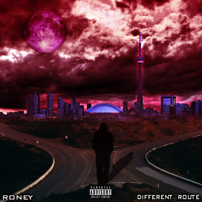 "Roney dropped his fire new album ""Different Route"" October 9, 2020"